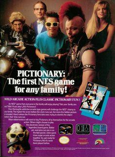 Pictionary NES