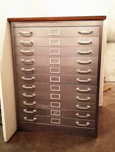 Flat file / flat files cabinet - for paper print poster art storage - diff sizes and styles available | Flat file cabinet Art storage and Print poster & Flat file / flat files cabinet - for paper print poster art ...