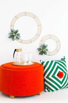 How to make your own minimalist Christmas wreath