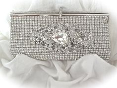 Hey, I found this really awesome Etsy listing at https://www.etsy.com/listing/204204649/clutch-purse-bridal-clutch-silver