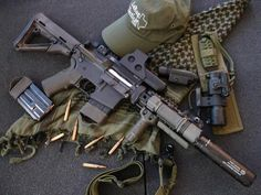 M-4 CUSTOMIZED TACTICAL RIFLE