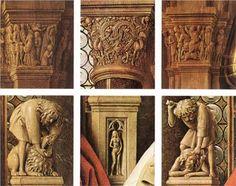 The Madonna of Canon van der Paele (detail)  - Jan van Eyck