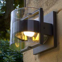 Applique d'extérieur grise - H16cm Gris anthracite - Delta - Bornes et appliques - Luminaire de jardin - Jardin - Décoration d'intérieur - Alinéa