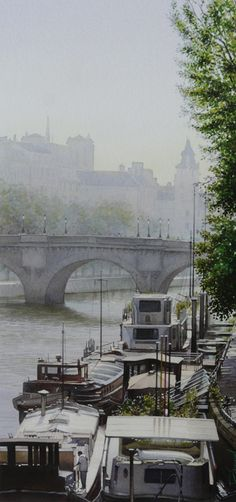 Thierry DUVAL WATERCOLOR