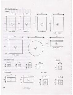 Tabla de medidas de muebles buscar con google for Medidas de una casa de xavier fonseca