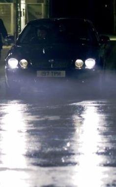 "2007 Jaguar XJ for BBC series ""Sherlock: A Study in Pink"""