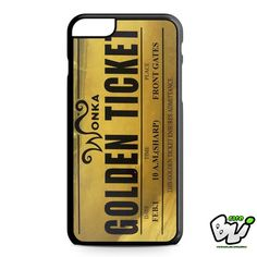 Willy Wonka Golden Ticket iPhone 6 Plus Case | iPhone 6S Plus Case