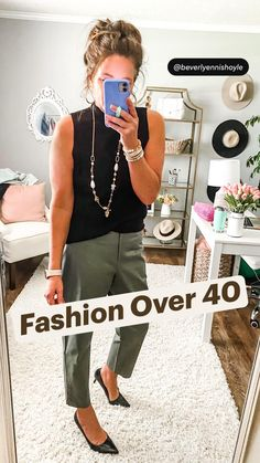 Fashion Over 40, Women's Summer Fashion, Work Fashion, Fashion Beauty, Fashion Edgy, Fashion Vintage, Fashion 2018, Casual Outfits, Cute Outfits