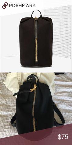 Aimee kestenberg destiny neoprene backpack Aimee kestenberg destiny neoprene back back with middle zipper. Super cool bag just never ended up using it. Aimee Kestenberg Bags Backpacks