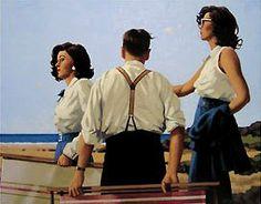 """""""Young Hearts"""" - Jack Vettriano"""