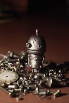 Machinarium robot from polymer clay***Research for possible future project.