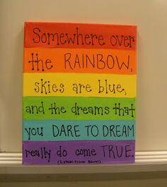 Little Lovely Leaders: Classroom Complete! Over the Rainbow sign :)