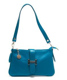 Look what I found on #zulily! Ottanio Pebbled Leather Shoulder Bag by Roberta M #zulilyfinds