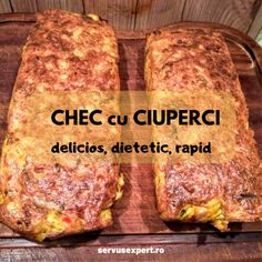 CHEC cu CIUPERCI: rețetă delicioasă în 3 pași - Servus Expert Baby Food Recipes, Vegan Recipes, Cooking Recipes, Finger Food Appetizers, Appetizer Recipes, Good Food, Yummy Food, Beef Bourguignon, Romanian Food
