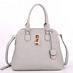 Designer Inspired Padlock Fashion Satchel w/Adjustable Strap – Handbag-Addict.com
