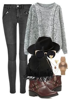 """Untitled #44"" by heartrobynfenty on Polyvore featuring BLK DNM, Dorothy Perkins, MANGO, Una-Home, Topshop and ki-ele"