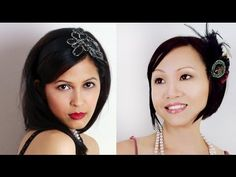 """two makeup tutorials inspired by """"The Great Gatsby"""" leonardo dicaprio's 2013 movie with carey mulligan and elizabeth debicki"""