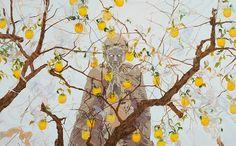 Jon Fox's Haunting, Kinetic Oil Paintings | Hi-Fructose Magazine