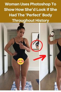 Woman Uses Photoshop To Show How She'd Look If She Had The 'Perfect' Body Throughout History Corps Parfait, Interesting History, Interesting Stories, Interesting Facts, Smart Casual Menswear, Ideal Shape, Perfect Body Shape, Pregnancy Problems, Gym Workout Tips