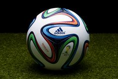 adidas Unveils the Official Match Ball of the 2014 FIFA World Cup in Brazil  Futebol Soccer de6a39f50ae0d