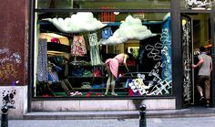 mr. ego window display, Brussels by Todd Mecklem, via Flickr