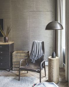 from Living etc november 2015 Living Etc, Living Room, Bedroom Corner, Modern House Design, Modern Rustic, Color Inspiration, Outdoor Chairs, Accent Chairs, Interior Design