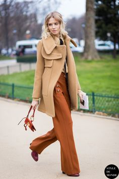 35 Ways to Wear Wide-Leg Pants This Winter | StyleCaster