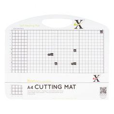 X-cut Xcut A4 Self Healing Duo Cutting Mat - Black & White - X-cut from Mountain Ash Crafts UK