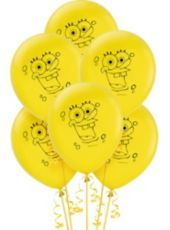 Latex SpongeBob Balloons - Party City