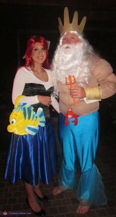 Ariel the Little Mermaid - Halloween Costume Contest at Costume-Works.com  sc 1 st  Pinterest & Flounder costume ??? | Pinterest | Flounder costume Flannels and ...