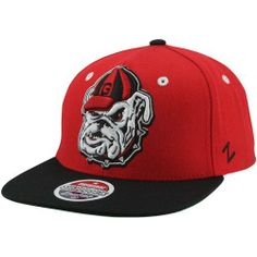 NCAA Georgia Bulldogs Refresh Snapback Cap, Scarlet by Zephyr. $23.95. Memory visor. Officially licensed hat. Adjustable snapback hat. 65% Acrylic / 35% Wool. Zephyr snapbacks are constructed to meet the desires of the consumer. Zephyr hats feature professional embroidery and detailed raised logos. The Zephyr Memory Visors are constructed with the best materials allowing you to bend the brim or keep it flat.  About Zephyr Zephyr was established in 1993 by former retailers wh...