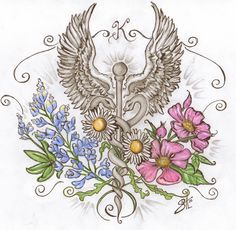 caduceus art - Google Search