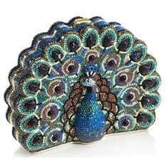 Elite Peacock Clutch