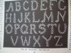 tatted Alphabet