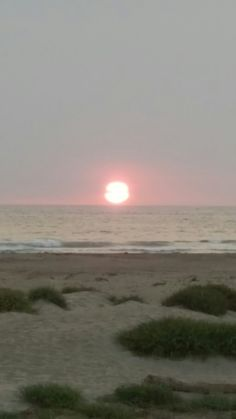 Sunset, finally saw it on our last evening