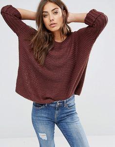 Noisy May | Noisy May Vera Wide Neck Knit Sweater