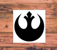 Star Wars Rebel Alliance Decal  Star Wars Silhouette  by Carcals