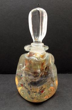 RICHARD CLEMENTS Jack Storms Glass, Vintage Perfume Bottles, Beautiful Things, Pretty, Blue