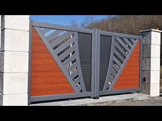 Iron Main Gate Design, Home Gate Design, Grill Gate Design, House Main Gates Design, Fence Design, Gate Designs Modern, Modern Gates, Modern Front Gate Design, House Front Gate