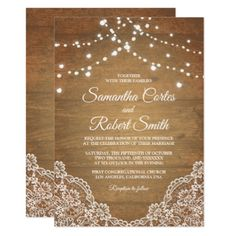 Vintage floral wooden wedding card with lights - wedding invitations cards custom invitation card design marriage party Wood Invitation, Invitation Card Design, Rustic Invitations, Invitation Maker, Shower Invitations, Lace Wedding Invitations, Wedding Invitation Templates, Wedding Cards, Wedding Gifts