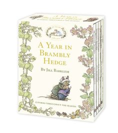 A Year in Brambly Hedge. by Jill Barklem by Jill Barklem http://www.amazon.com/dp/0007371667/ref=cm_sw_r_pi_dp_pHhMtb0SXRRVPMRW