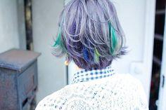半谷明音 @akn22warawara グレーベースに青...Instagram photo | Websta (Webstagram)