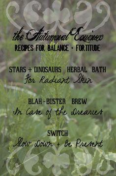 Autumn Equinox Recipes