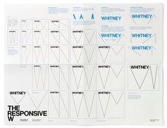 neue grafische Identität für das Whitney Museum