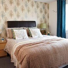 15 quartos de Casal com tecido na parede - * Decoração e Invenção *