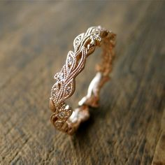 10 Leaf-Adorned Rings from Etsy that You Will LOVE | Intimate Weddings - Small Wedding Blog - DIY Wedding Ideas for Small and Intimate Weddings - Real Small Weddings