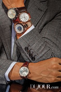 'Tis the season to binge Everything is rosy with this winter's timepieces. From dazzling details to all over hues, metals are making a major statement. Men's Watches, Watches For Men, Winter Season, Metals, Rose Gold, Design, Style, Fashion, Winter Time