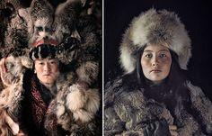 Le photographe Jimmy Nelson  Captures Portraits de groupes tribaux condamnés à disparaître: Kasakh, Mongolie