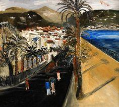 Sven Erixson - Promenade des Anglais at Nice, 1926