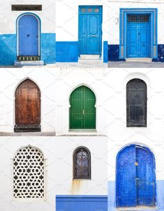 Streets and corner of Asillah by huertas19 on @creativemarket